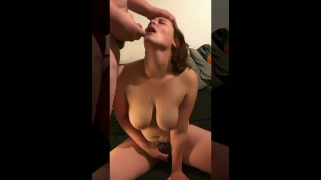 AMATEUR WITH BIG NATURALS MASTURBATES (SNAPCHAT - giacatx)